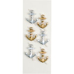 Little B - 3 Dimensional Stickers - Anchors - Mini