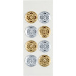 Little B - 3 Dimensional Stickers - Decorative seals - Mini
