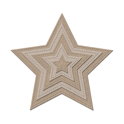 Little B - Cutting Dies - Stars