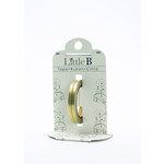 Little B - Decorative Paper Tape - Gold Foil Honeycomb - 3mm