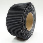 Little B - Corrugate Tape - Black - 40mm