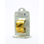 Little B - Decorative Paper Tape - Gold Foil Diagonal Stripes - 25mm
