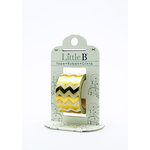 Little B - Decorative Paper Tape - Gold Foil Chevron - 25mm