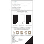 Little B - 6 x 12 Chipboard Pack - Black and White