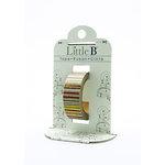 Little B - Decorative Paper Tape - Orange Foil Rainbow Bright - 15mm