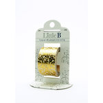 Little B - Decorative Paper Tape - Golden Foil Floral - 25mm