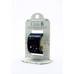 Little B - Decorative Paper Tape - Silver Foil Starry Night - 25mm