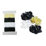 Little B - Pull Flowers - Mini Roses - Black, Cream and White