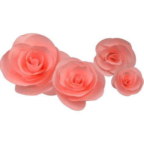 Little b paper flower pink rose petal kits little b paper flower petal kits pink rose mightylinksfo