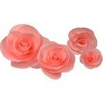 Little B - Paper Flower - Petal Kits - Pink Rose