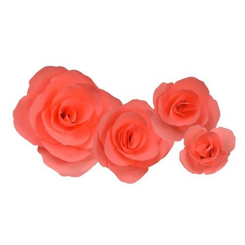 Little b paper flower coral carnation petal kits little b paper flower petal kits coral carnation mightylinksfo