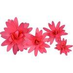 Little B - Paper Flower - Petal Kits - Bright Pink Daisy