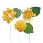 Little B - Paper Flower - Petal Strip Kits - Yellow Daisy