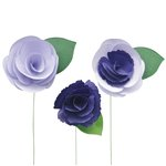 Little B - Paper Flower - Petal Strip Kits - Pansy
