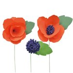 Little B - Paper Flower - Petal Strip Kits - Wildflower