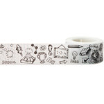 Little B - Decorative Paper Tape - Doodles - 25mm