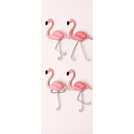 Little B - 3 Dimensional Stickers - Mini - Flamingo