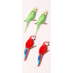 Little B - 3 Dimensional Stickers - Mini - Tropical Birds