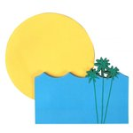 Little B - Decorative Paper Notes - Sunset and Beach