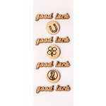 Little B - 3 Dimensional Stickers - Mini - Good Luck
