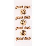 Little B - 3 Dimensional Stickers - Mini - Good Luck