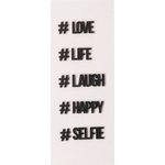 Little B - 3 Dimensional Stickers - Mini - Hashtag