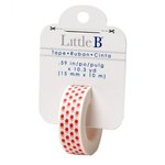 Little B - Decorative Paper Tape - Apples - 15mm