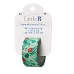 Little B - Decorative Paper Tape - Tropical - 25mm