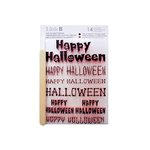 Little B - Halloween Collection - Rub Ons - Happy Halloween