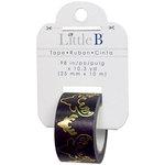 Little B - Christmas Collection - Decorative Paper Tape - Bucks Gold Foil - 25mm