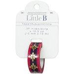 Little B - Decorative Paper Tape - Gold Foil Pink and Purple Burst - 15mm