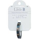 Little B - Decorative Paper Tape - Gold Foil Multi Color Triangles - 3mm