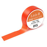 Little B - Color Paper Tape - Cadmium Orange - 15mm