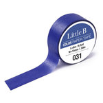 Little B - Color Paper Tape - Mauve Blue Shade - 15mm