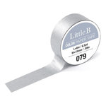 Little B - Color Paper Tape - Silver - 15mm