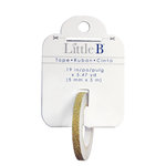Little B - Decorative Paper Tape - Gold Glitter Solid - 5mm