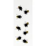 Little B - Decorative 3 Dimensional Stickers - Yellowjackets - Mini