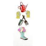 Little B - Decorative 3 Dimensional Stickers - Gardening - Mini