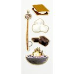 Little B - Decorative 3 Dimensional Stickers - Smores - Mini