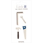 Little B - Decorative Paper Tabs - Tools