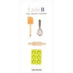 Little B - Decorative Paper Tabs - Baking
