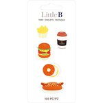 Little B - Decorative Paper Tabs - Fast Food