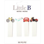 Little B - Decorative Paper Tabs - Transportation