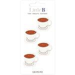Little B - Decorative Paper Tabs - Coffee Break