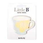 Little B - Decorative Paper Notes - Teacup