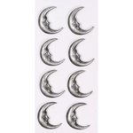 Little B - Halloween - 3 Dimensional Stickers - Mini - Half Moon