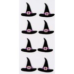 Little B - Halloween - 3 Dimensional Stickers - Mini - Witches Hats