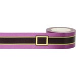 Little B - Halloween - Decorative Paper Tape - Gold Foil Witches Belt - 25mm