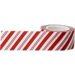 Little B - Christmas - Decorative Paper Tape - Candy Cane Stripes - 25mm