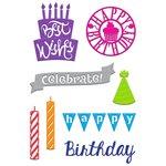 Little B - Cutting Dies - Birthday Wishes